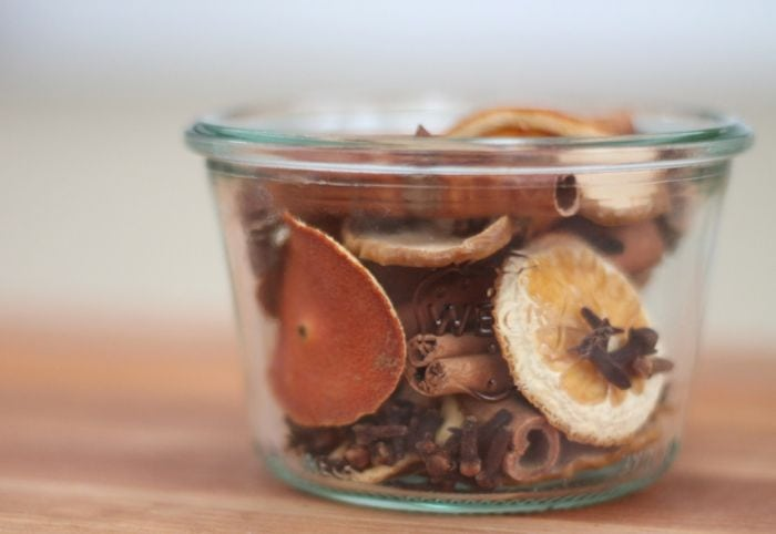 homemade potpourri recipe