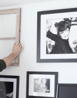 styling an art wall