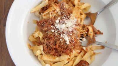 slow cooker pasta