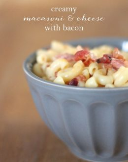 creamy bacon macaroni & cheese recipe