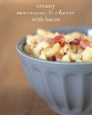 creamy bacon macaroni & cheese recipe