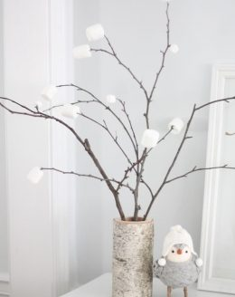 beautiful winter decor