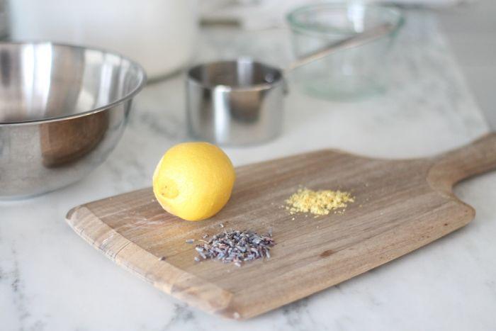 homemade lavender & lemon sugar scrub recipe