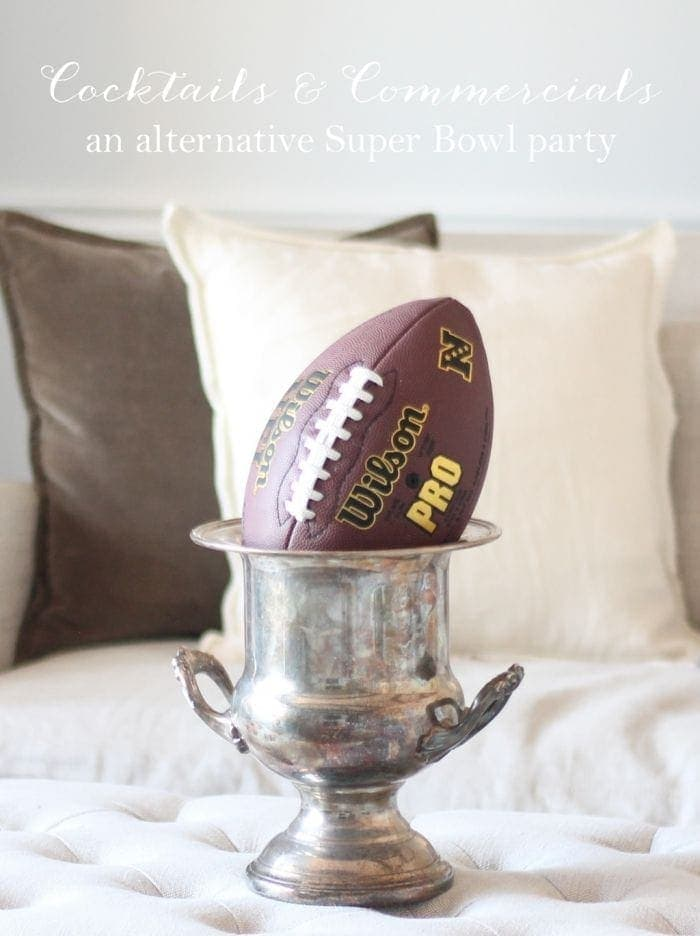 Cocktails & Commercials | Alternative Super Bowl Party