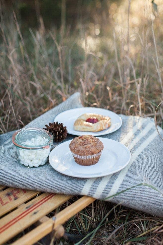 Valentine's Day picnic breakfast