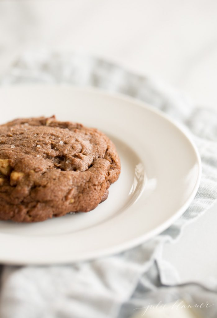 bakery style thick, chewy, chocolate cookies recipe