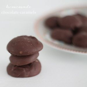 homemade chocolate red wine caramels recipe - incredibly easy & delicious!