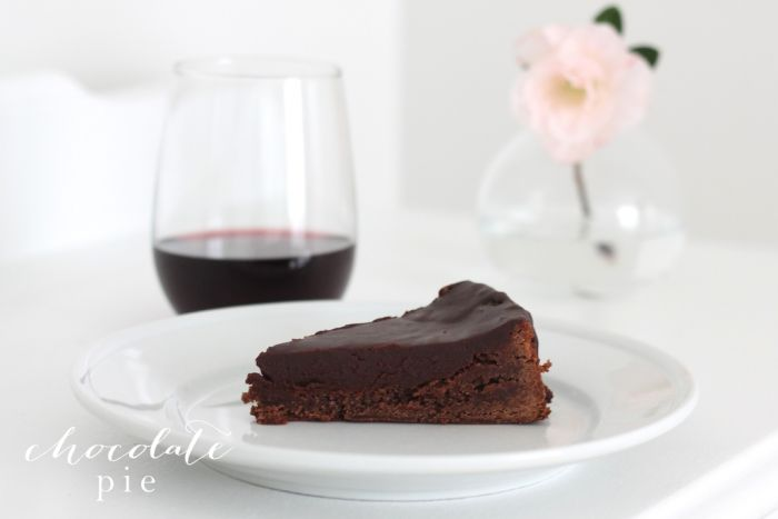 Chocoholic? This pie's for you! Rich & creamy chocolate pie recipe