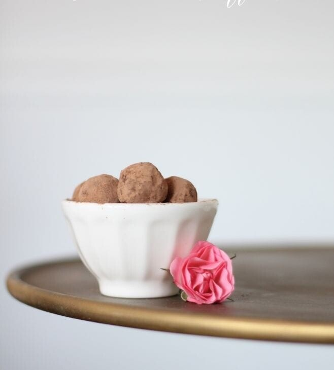 make homemade truffles with ease click to get the decadent recipe at julieblanner.com