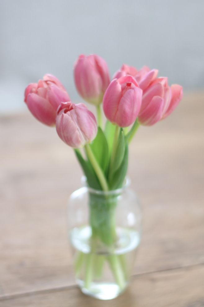 Image result for tulips in vase