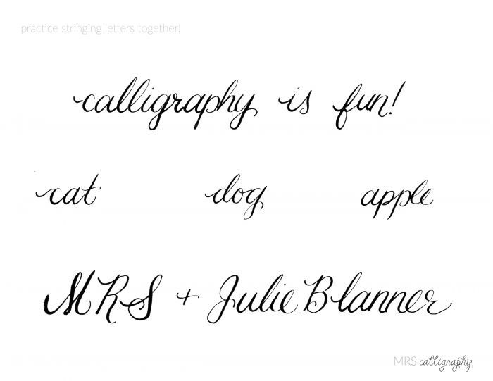 Learn Calligraphy Practice Words. Learn Calligraphy Practice Words. Worksheet. Your And You Re Worksheet At Mspartners.co