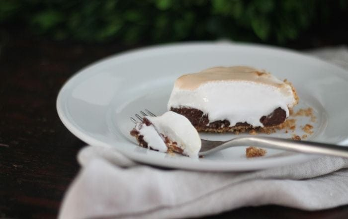 Chocolate Guinness Pie - the ultimate sweet & salty dessert - St. Patrick's Day