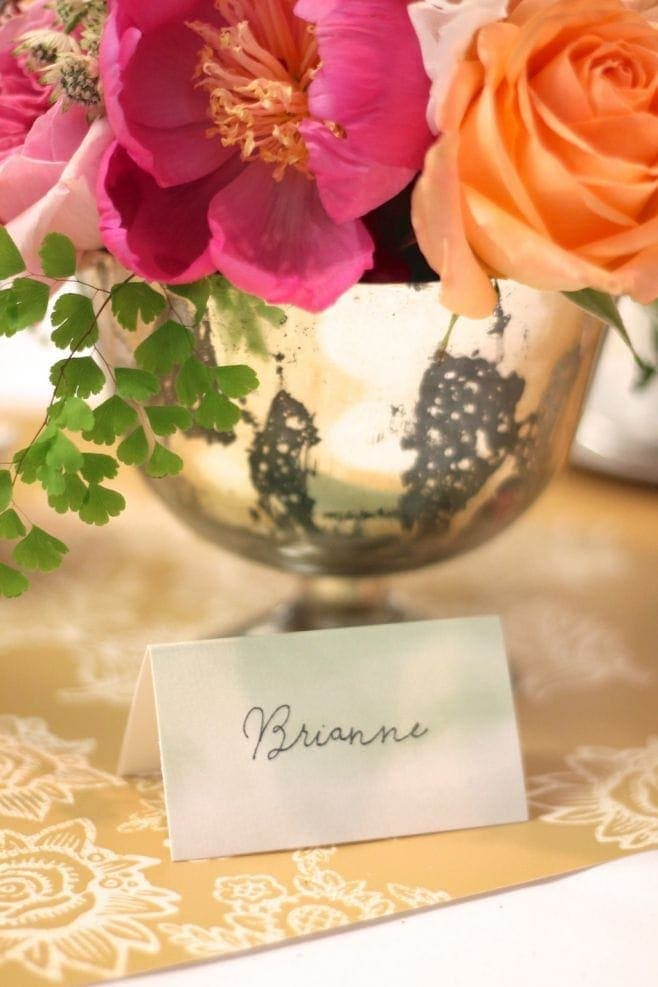 Learn how to fake calligraphy or your favorite handwriting. It's SO easy! www.julieblanner.com