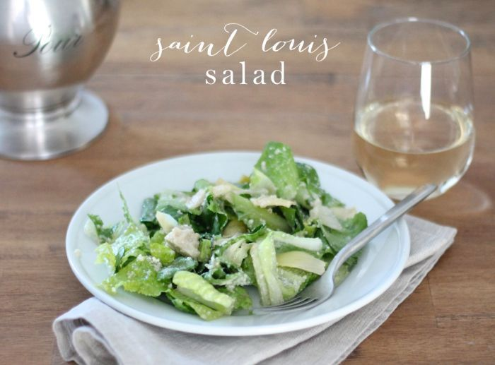 A Taste of Home | St. Louis Salad