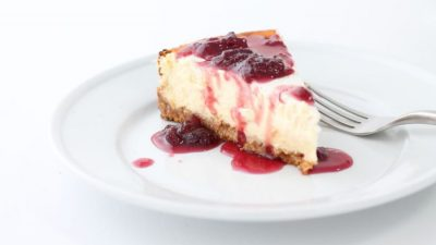 The best strawberry topping for cheesecakes, ice cream, brownies & more | Strawberry Pinot Reduction via julieblanner.com