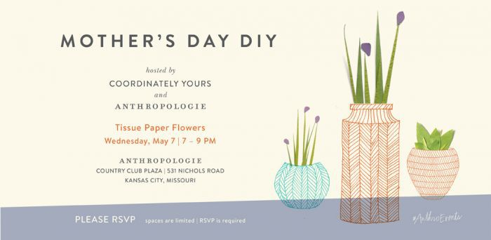 anthroevents hosted by Julie Blanner of Coordinately Yours