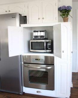 diy appliance garage