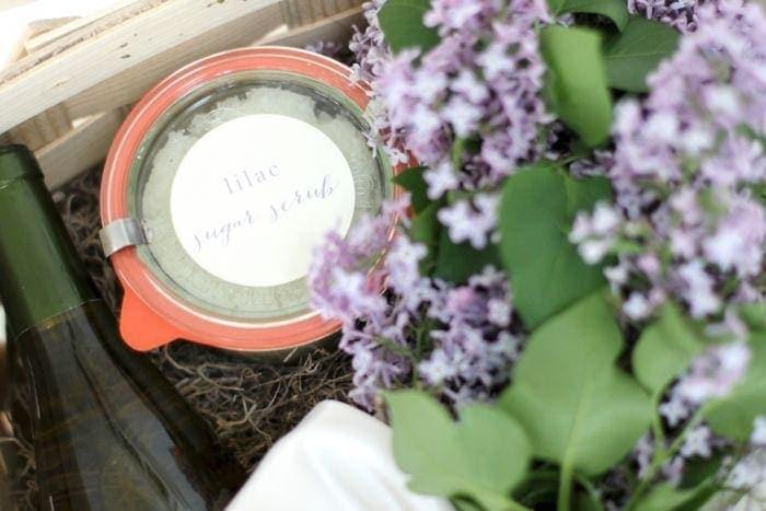 Natural Bath Products | Lilac Sugar Scrub