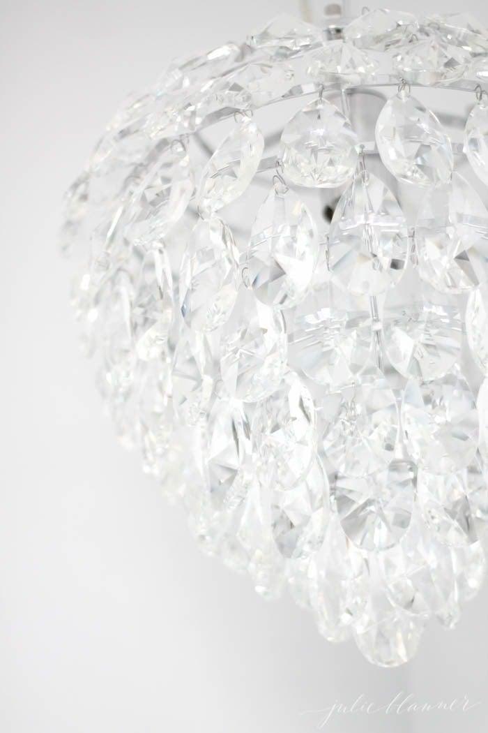 Beautiful bathroom pendant chandelier