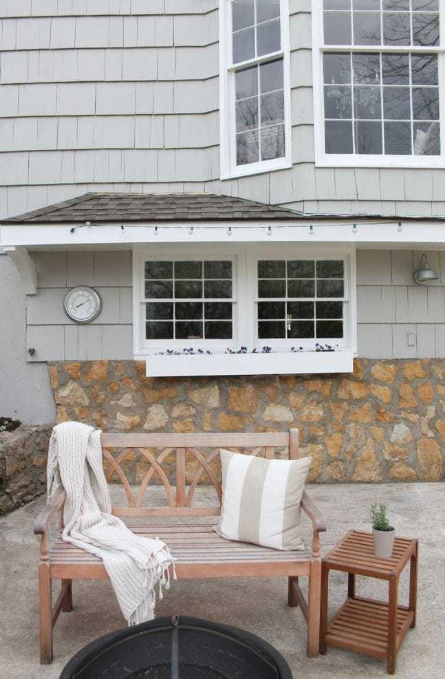 A simple patio makeover