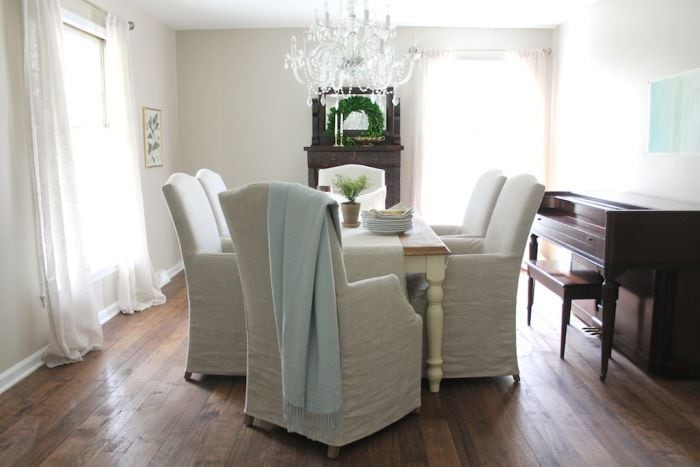 Dining Room Decor U0026 Neutral Paint Color