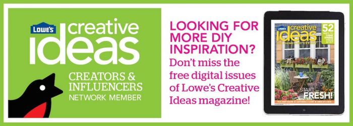 Lowes Creator Julie Blanner | Lowes Creative Ideas Magazine
