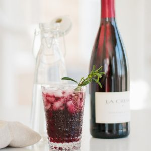 Easy Spring Spritzer - a great daytime signature drink