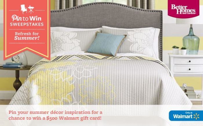 BHG Summer Refresh Pin to Win