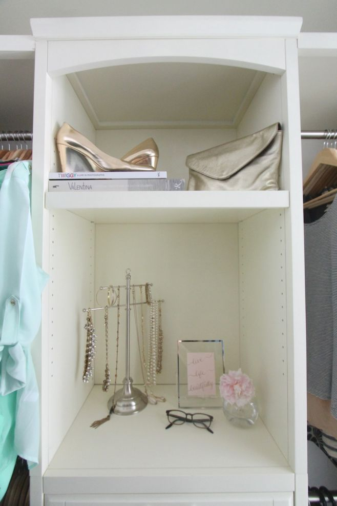 Gorgeous Walk In Closet Created With Diy Closets Systems