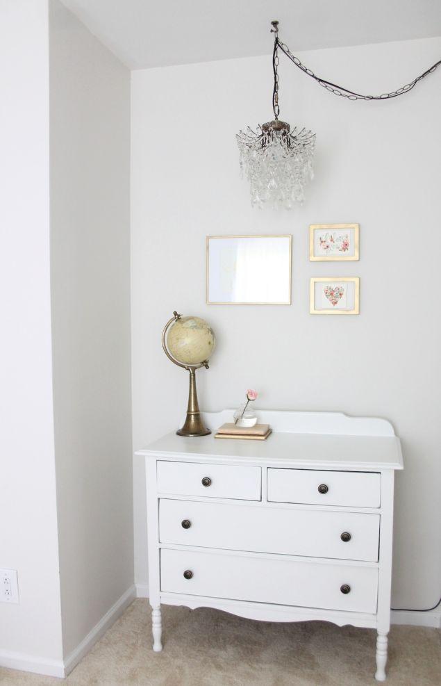 Add a Chandelier Anywhere Plug In Chandelier : chandelier in nursery from julieblanner.com size 635 x 987 jpeg 41kB