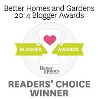 Better homes gardens blogger of the year Better homes and gardens lifestyle