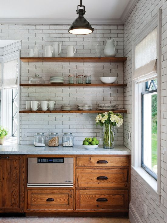 Kitchen dreaming julie blanner for Refinishing old kitchen cabinets