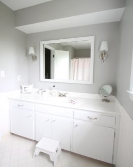 A bright & beautiful bathroom redo