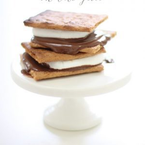 Make s'mores on the grill for a classic after dinner dessert