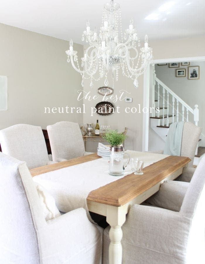 Our neutral paint palette the best neutral paint colors Best neutral wall color for living room