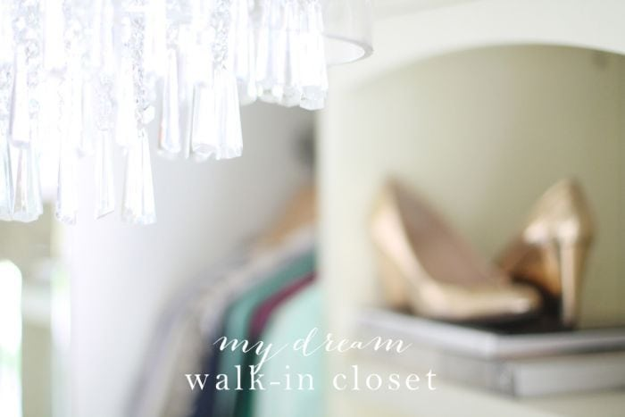 Dream walk-in closet transformation