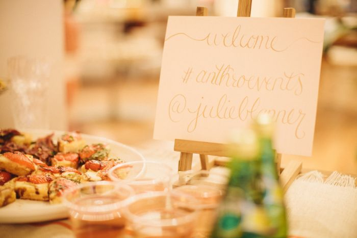 Anthropologie events