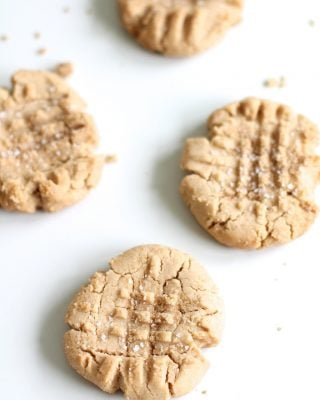 Sweet & Salty Peanut Butter Cookies