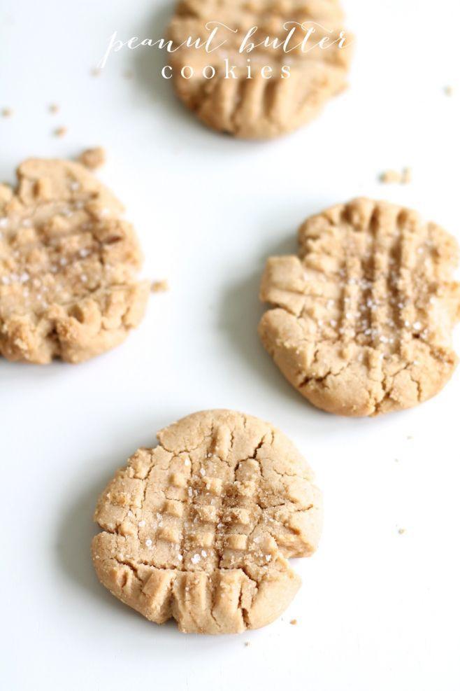 Sweet & Salty Peanut Butter Cookie Recipe