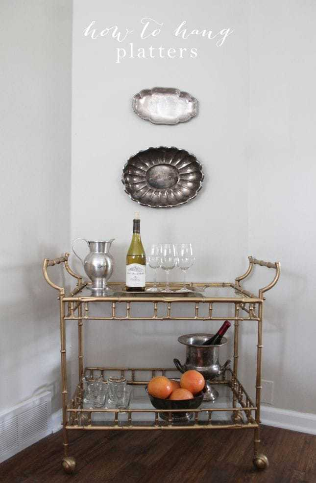 How to Hang Platters