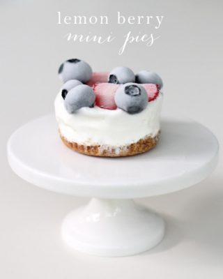 Lemon Berry Pie - refreshing summer dessert recipe