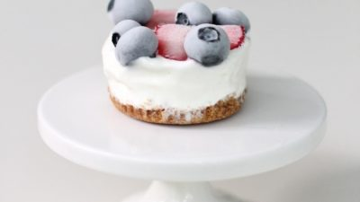 Lemon Berry Pie - refreshing summer dessert recipe