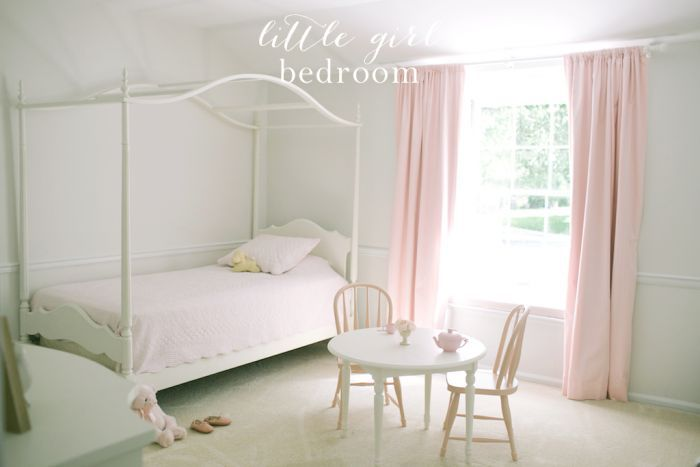 Little Girls Bedroom Ideas | decorating with what you have