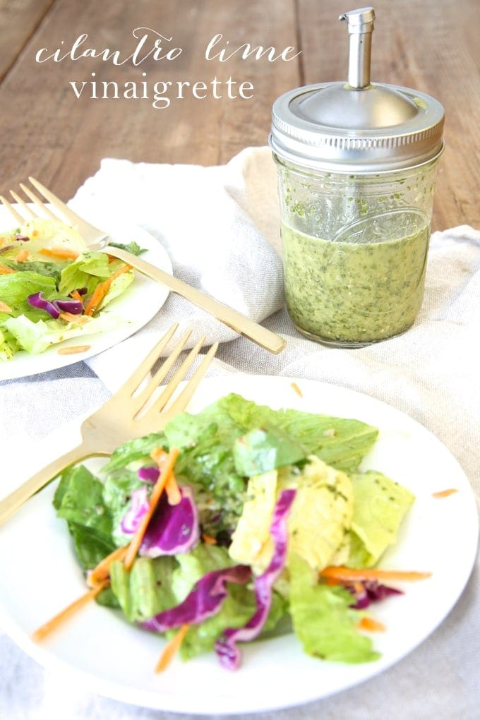 Cilantro Lime Vinaigrette Recipe