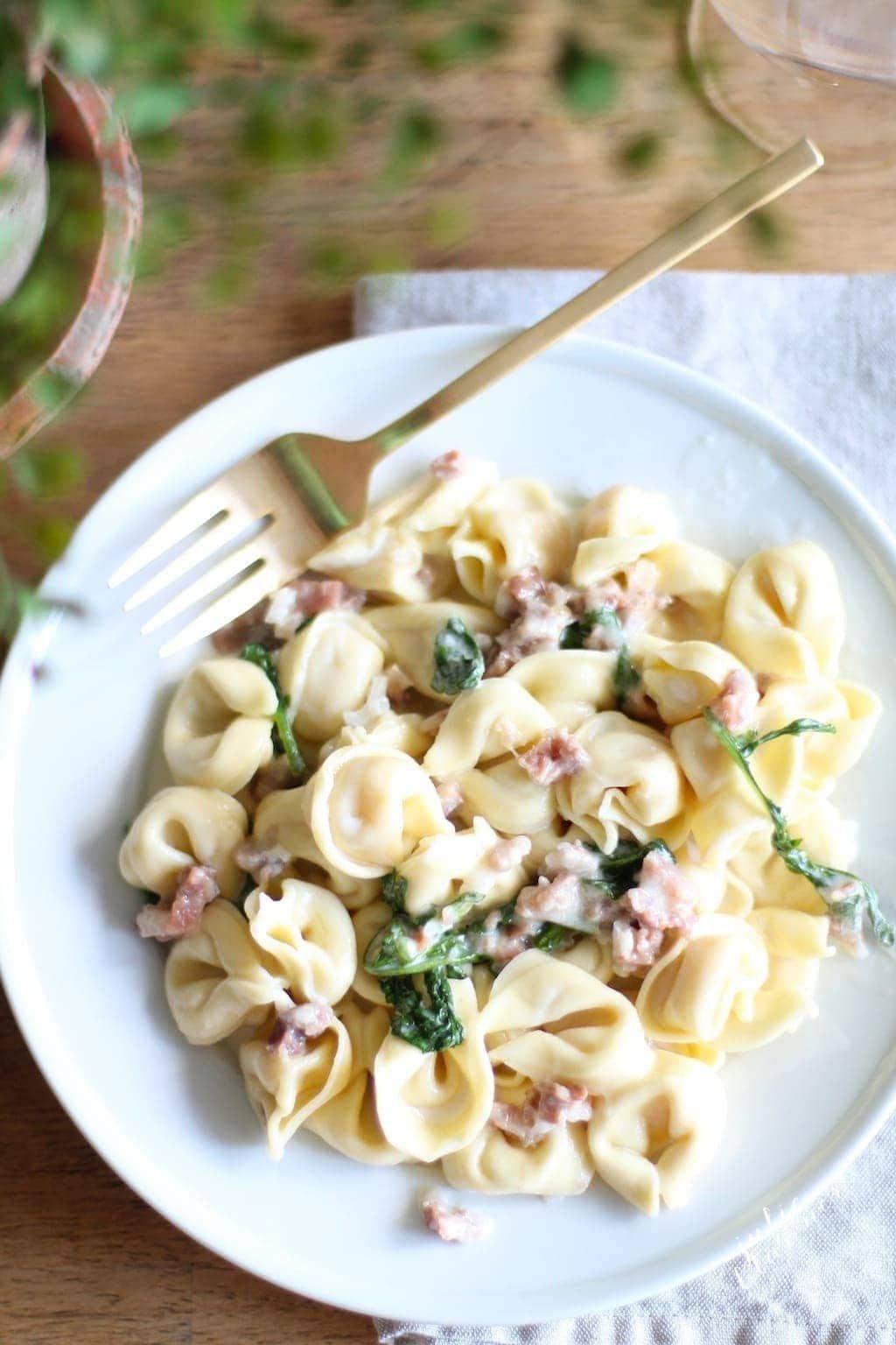 copycat recipe of Maggiano's tortellacci