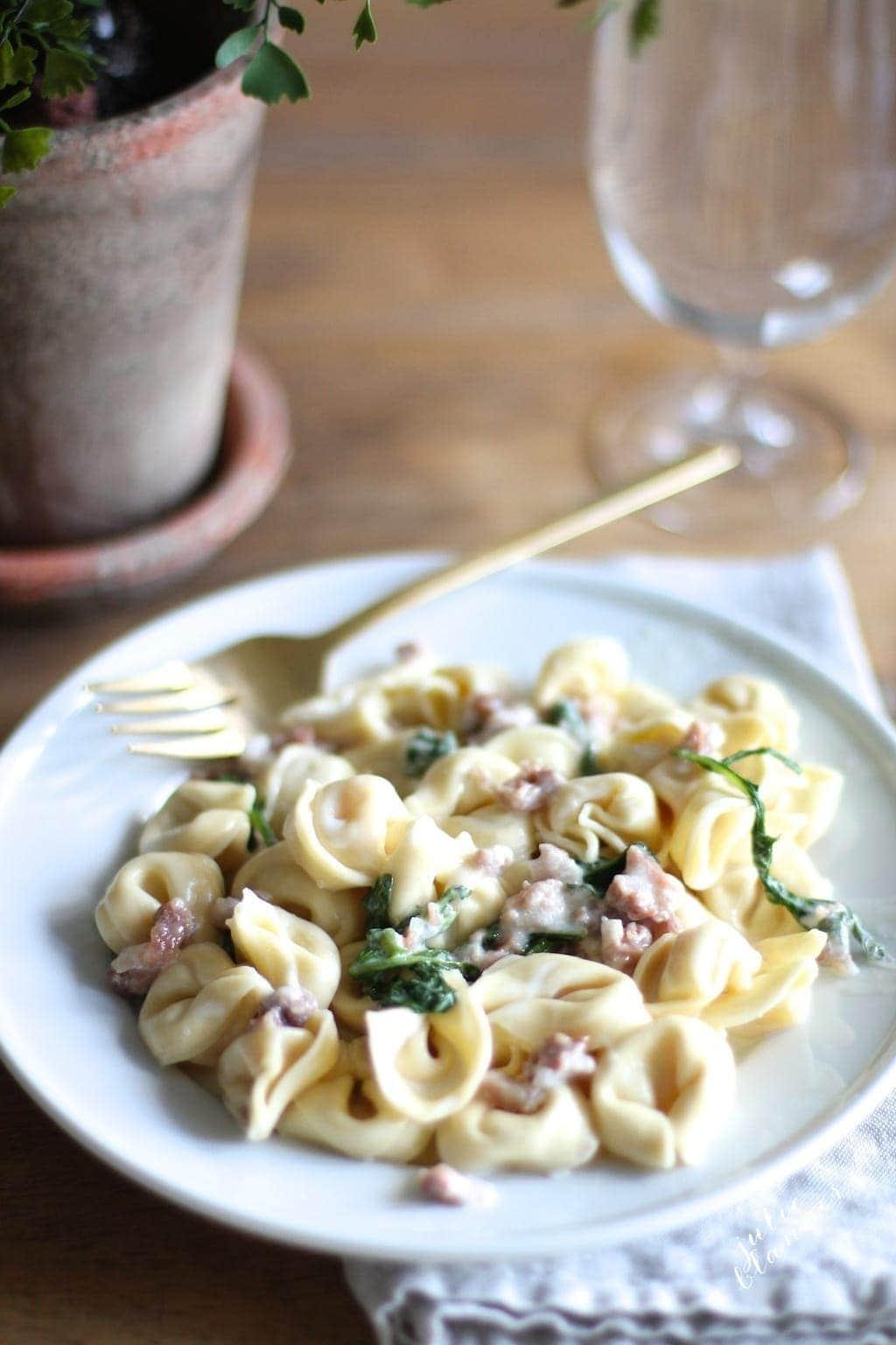Fast & flavorful tortellacci recipe