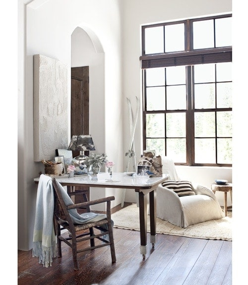 To paint or not to paint? White versus wood.