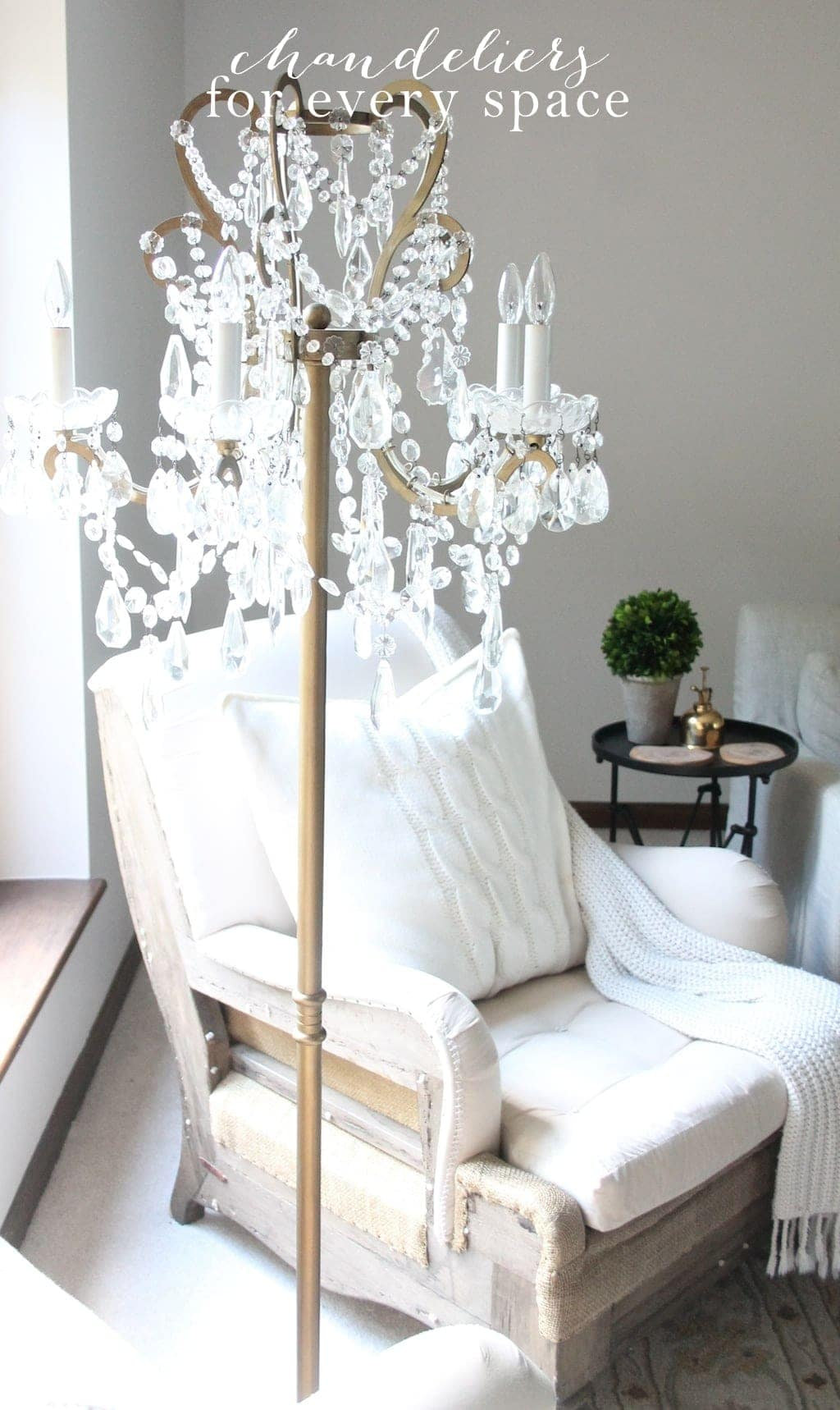 Let There Be Light | My Obsession with Chandeliers - Julie Blanner