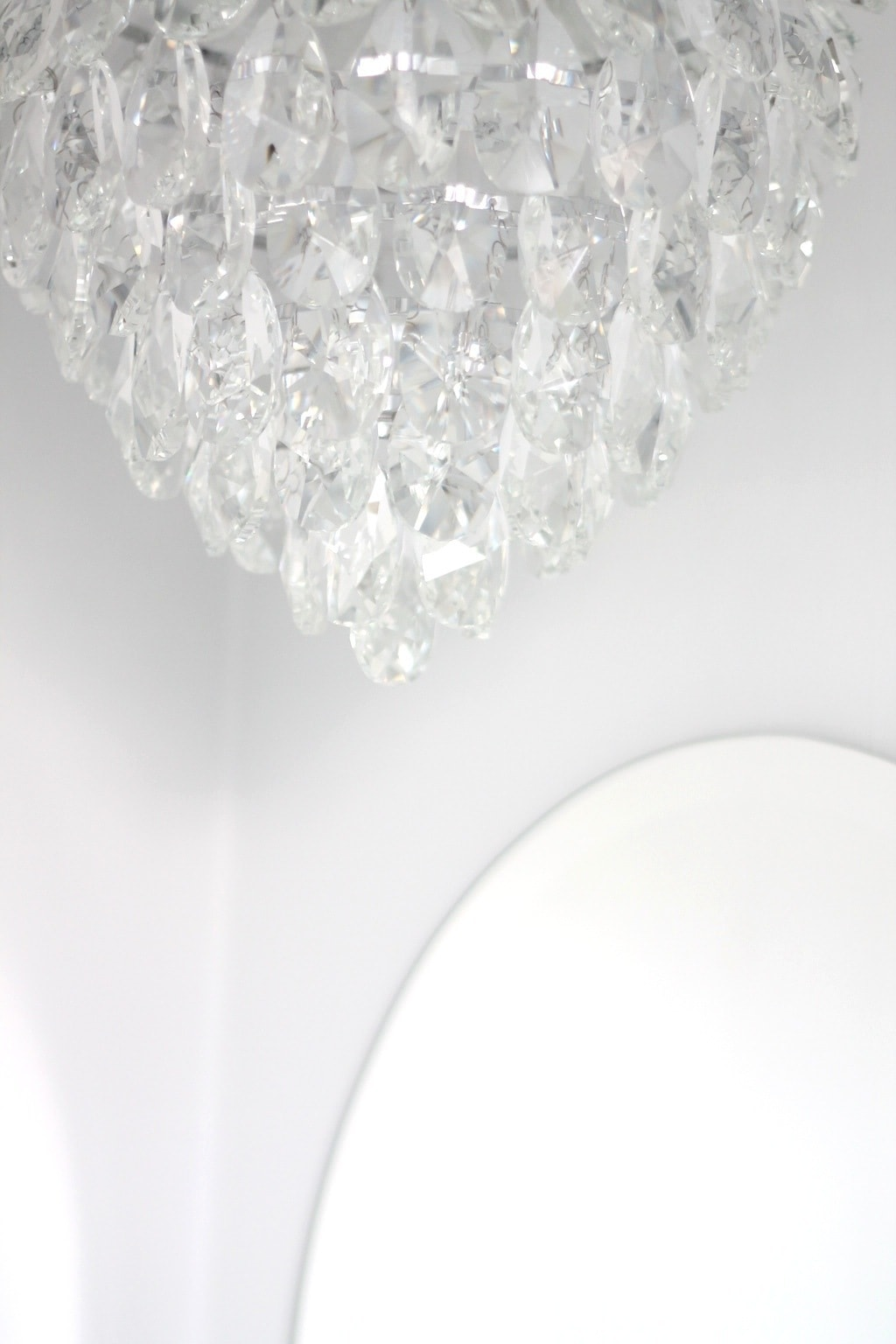 A roundup of gorgeous chandeliers including floor lamps & plug ins.