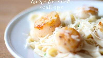 How to cook scallops - learn how to sear scallops like a pro in just 6 minutes